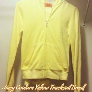 Women's Juicy Couture Yellow Tracksuit